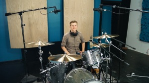 Session Recording Drummer Nick Adams