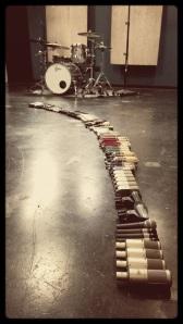 Microphones at Ultimate Studios, inc