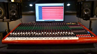 The Toft ATB24 Recording Console at Ultimate Rhythm Studios