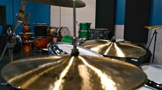 The Drum Recording Gear at Ultimate Rhythm Studios