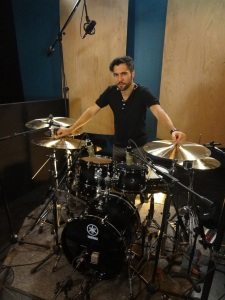 Session Recording Drummer Gianluca Palmieri