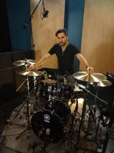 Session Recording Drummer Gianluca Palmieri