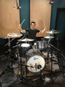 Session Recording Drummer Greg Garman