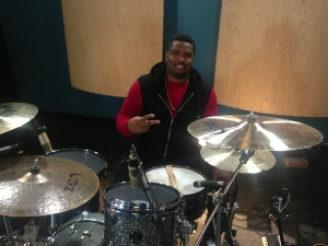 Session Recording Drummer Henry McDaniel
