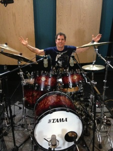 Recording Session Drummer Jeff Bowders
