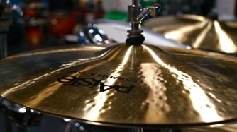 "Ultimate Rhythm Studio's Piaste Formula 602 Modern Essential 15"" hi-hats"