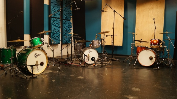 The Drum Recording Room at Ultimate Rhythm Studios