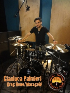 Real Drum Tracks Now Session Recording Drummer Gianluca Palmieri