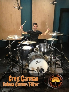 Real Drum Tracks Now Session Recording Drummer Greg Garman