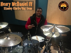 Real Drum Tracks Now Session Recording Drummer Henry McDaniel