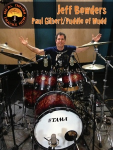 Real Drum Tracks Now Session Recording Drummer Jeff Bowders