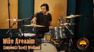 Real Drum Tracks Now Session Recording Drummer Mike Avenaim