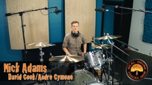 Real Drum Tracks Now Session Recording Drummer Nick Adams