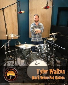 Real Drum Tracks Now Session Recording Drummer Tyler Walton