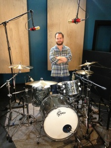 Session Recording Drummer Tyler Walton