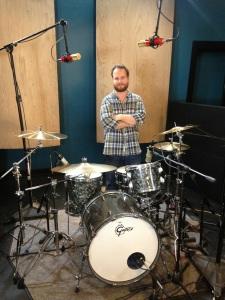 Session Recording Drummer Tyler Walton
