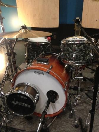 Custom drum setup for Recording