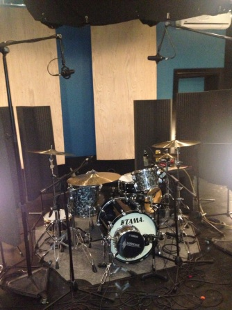 Custom drum setup for recording