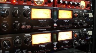 Ultimate Rhythm Studio's ART ProVLA II Tube Compressors