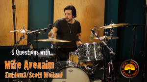5 Questions with Session Drummer  Mike Avenaim